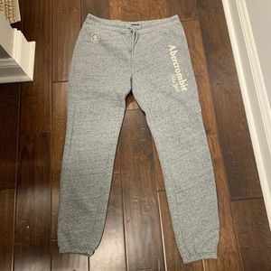 Ladies Sweat pants Abercrombie and Fitch.